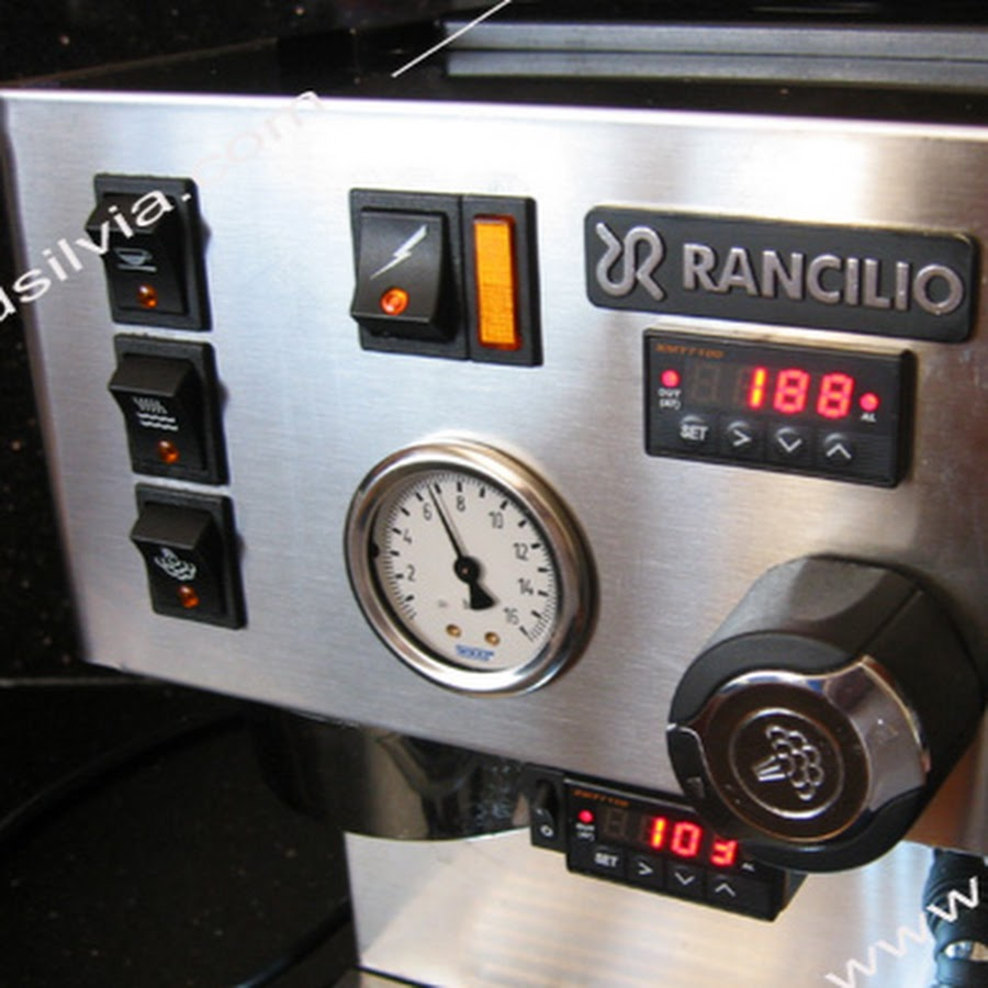 rancilio silvia instruction manual