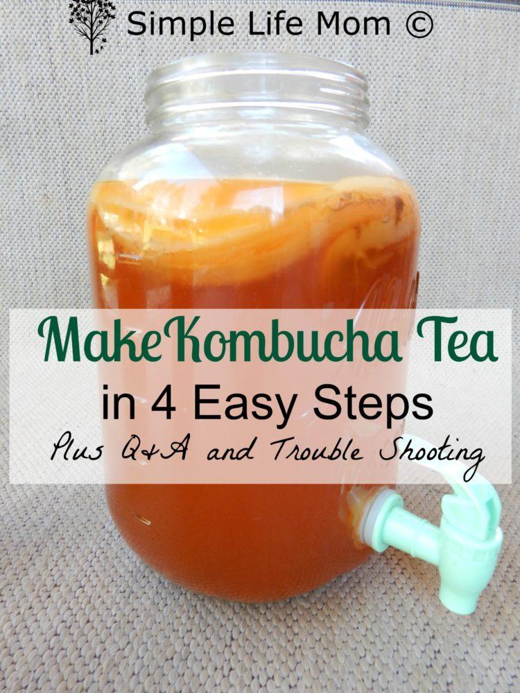 instructions to make tea
