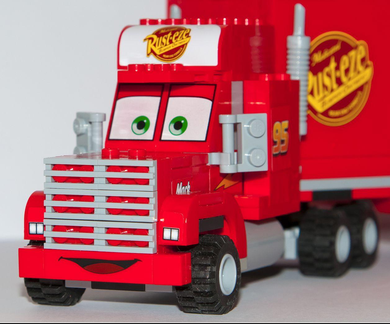 disney cars lego instructions