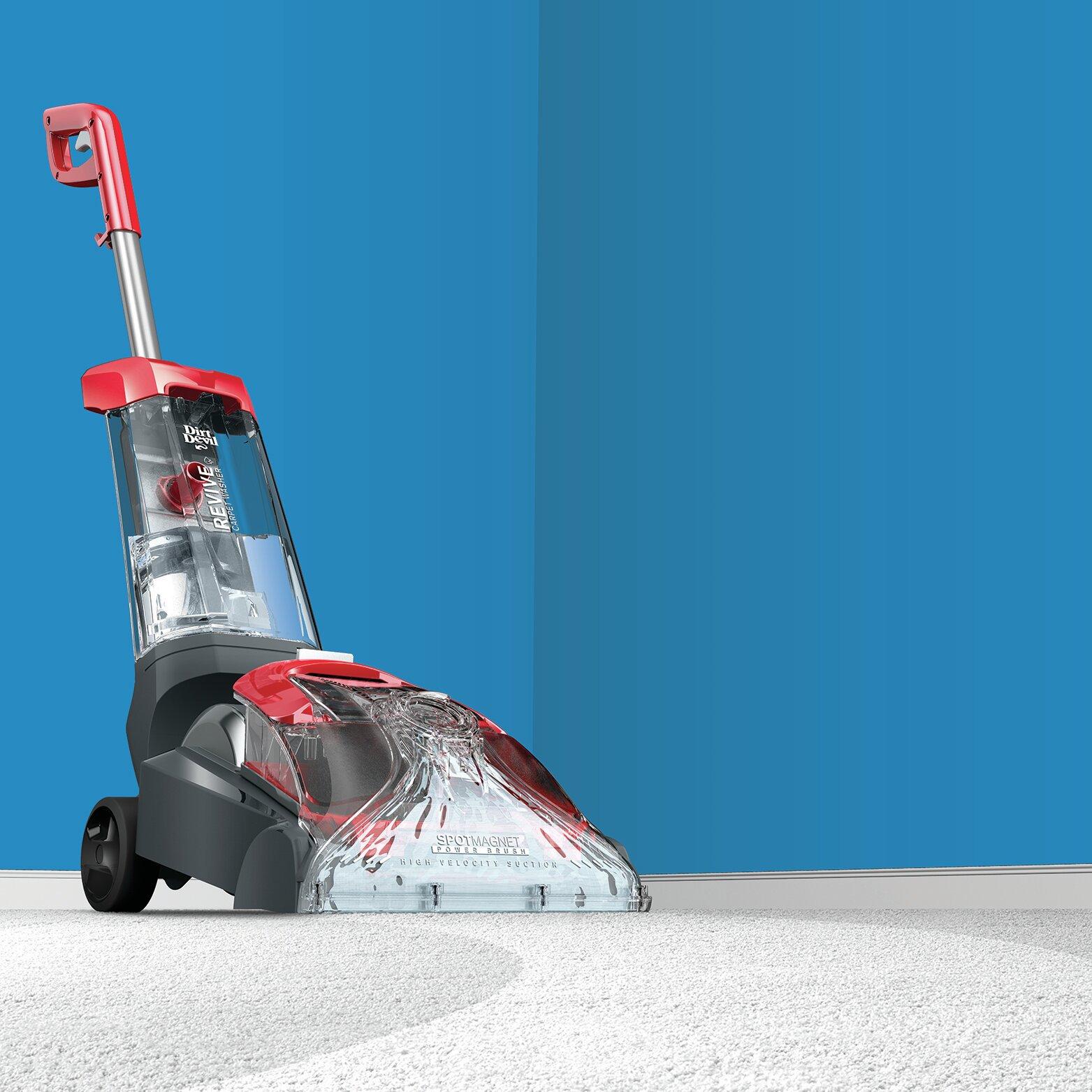dirt devil quick and light carpet cleaner instructions