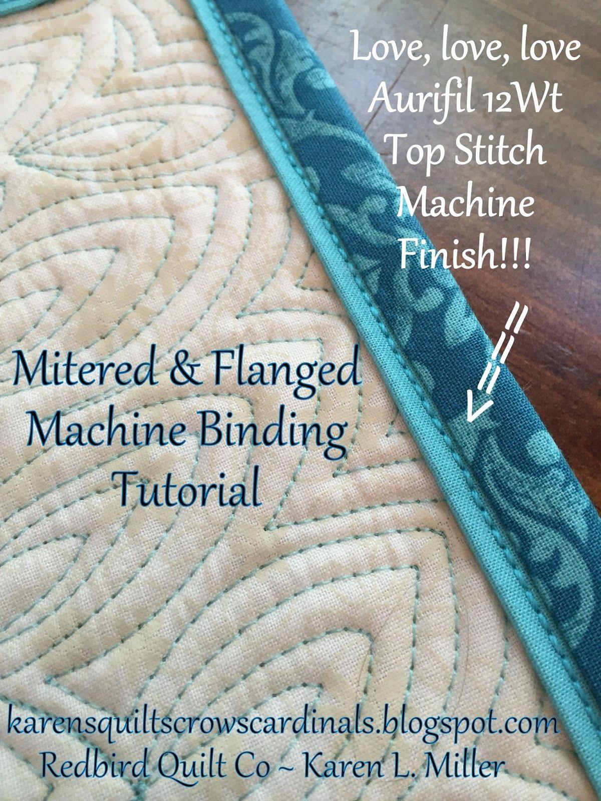 quilt binding instructions video