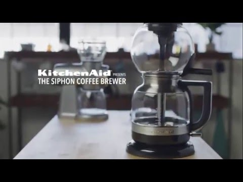 kitchenaid siphon coffee brewer instructions