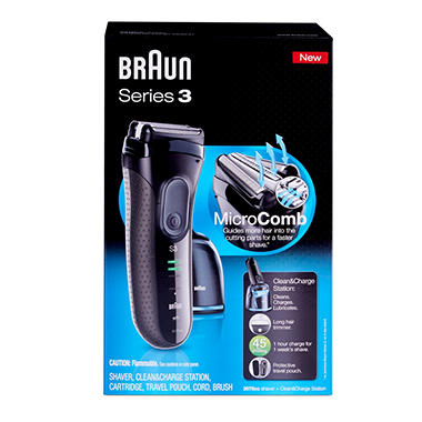 braun series 3 cleaning station instructions
