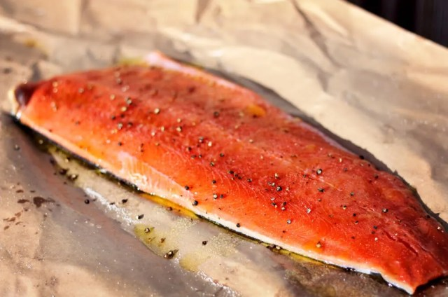how to fillet a salmon instructions