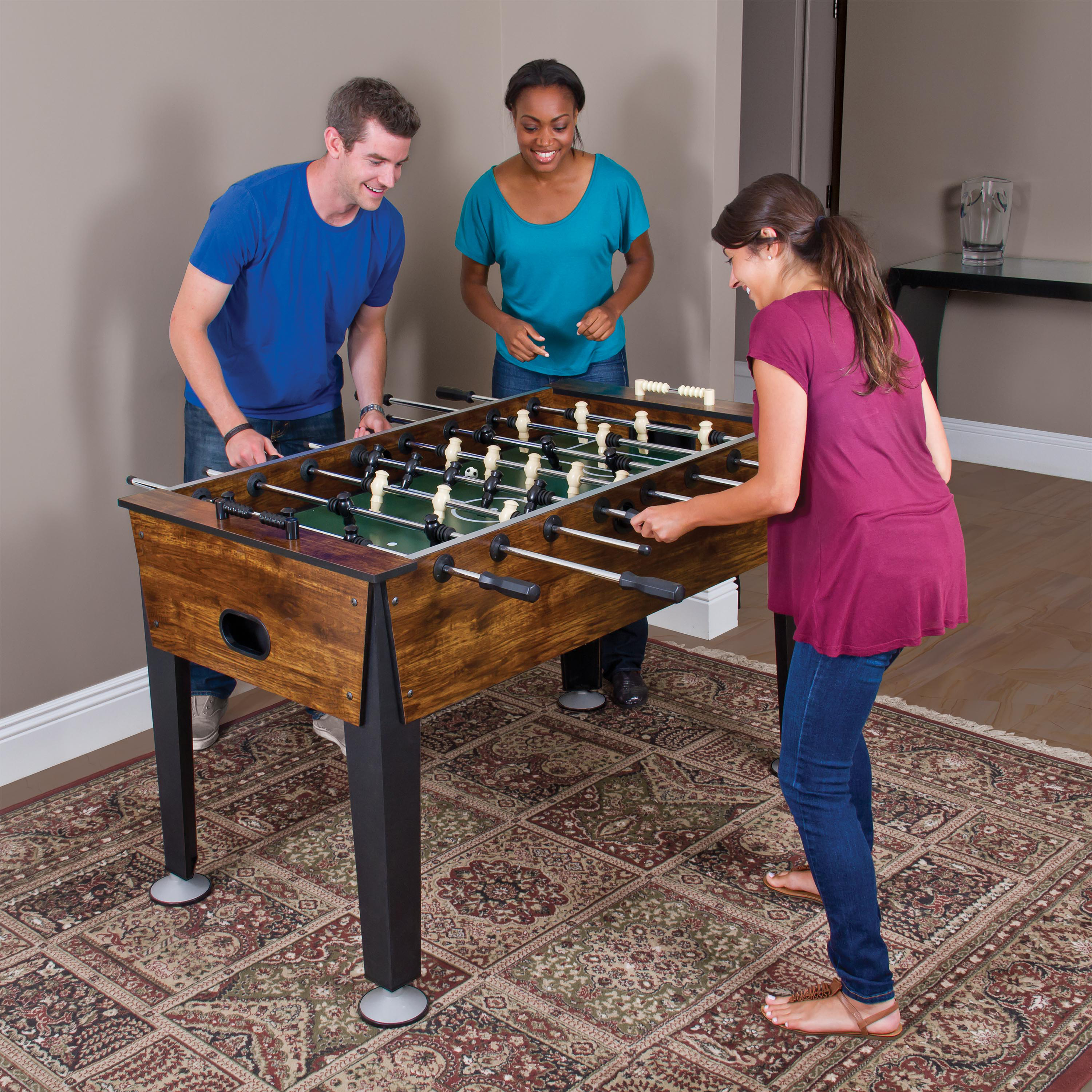 eastpoint newcastle foosball table instructions