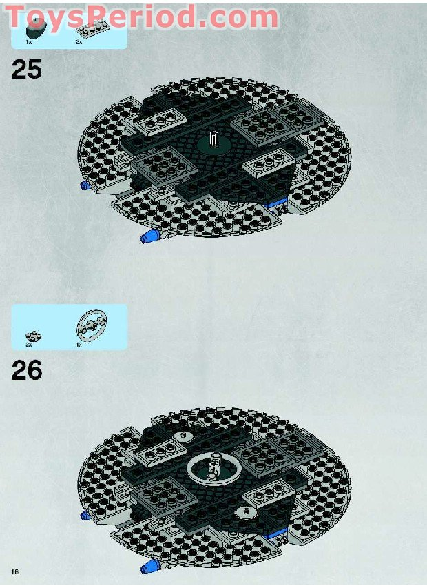 lego droid gunship instructions