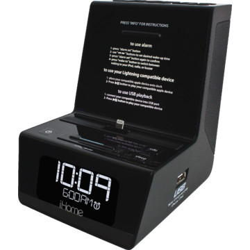 ihome clock radio instructions