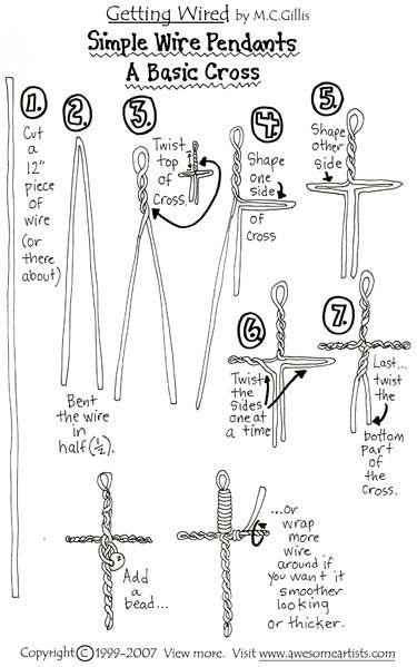 simple palm cross instructions