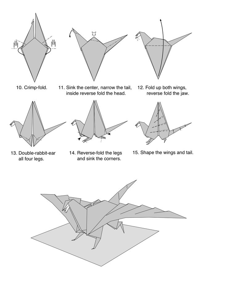 chinese paper folding instructions