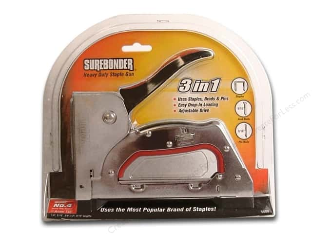 surebonder 3 in 1 staple gun instructions