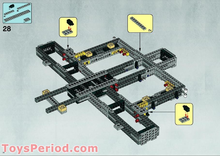 lego millennium falcon 10179 instructions