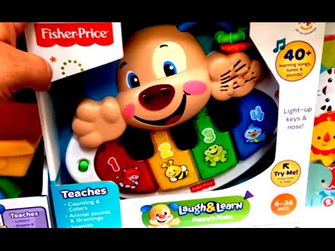 fisher price laugh and learn piano instructions