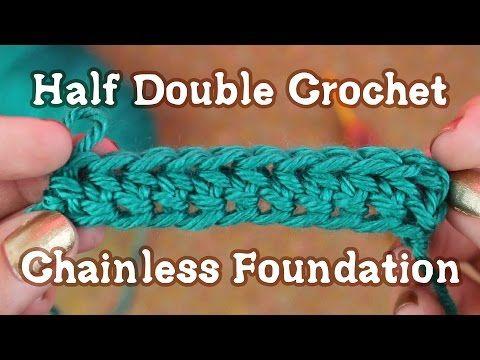 foundation double crochet instructions
