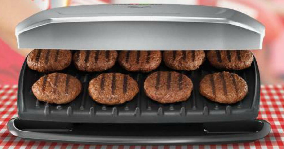 george foreman 9 serving grill instructions