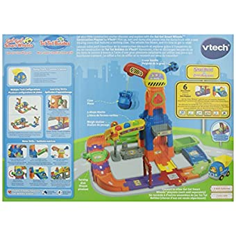 go go smart wheels construction playset instructions