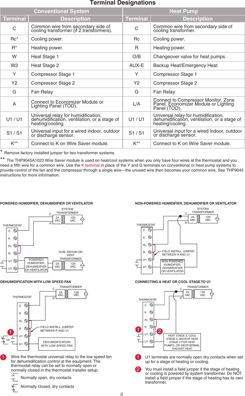 honeywell 8000 installation instructions