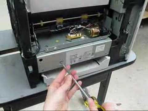 hp laserjet 4050 toner replacement instructions