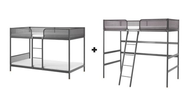 ikea bunk bed assembly instructions metal