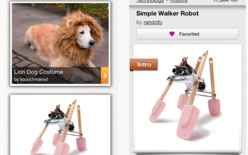 instructables app play store