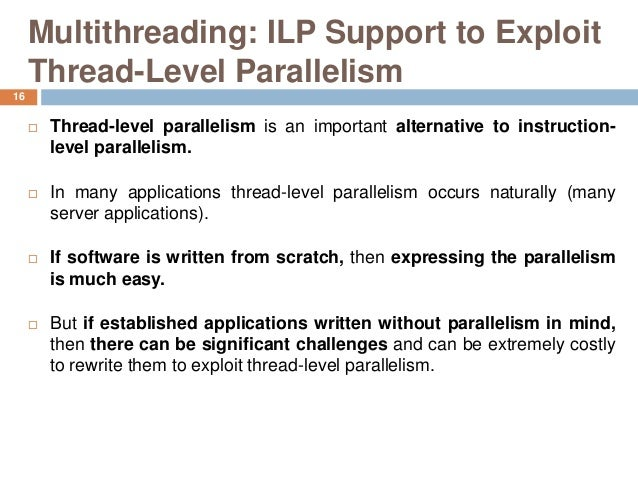 instruction level parallelism example