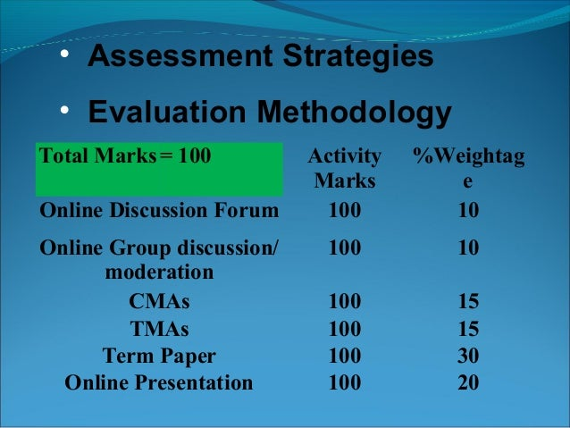 instructional design development and evaluation