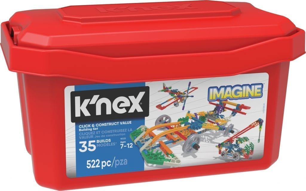 k nex 521 piece value tub instructions