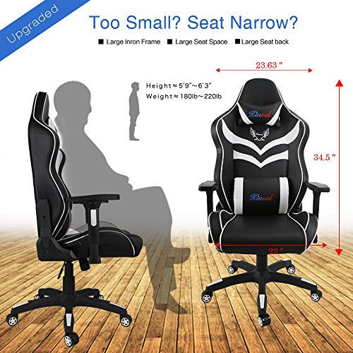 kinsal gaming chair instructions