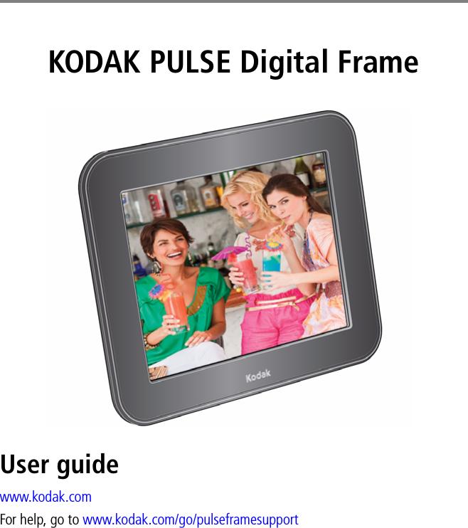 kodak pulse instruction manual
