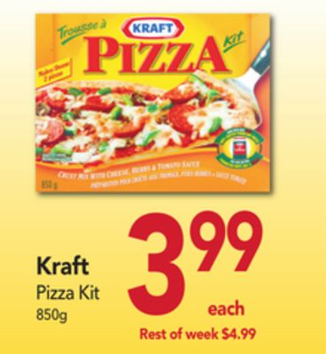 kraft pizza kit instructions
