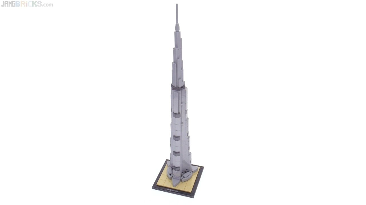 lego architecture burj khalifa instructions