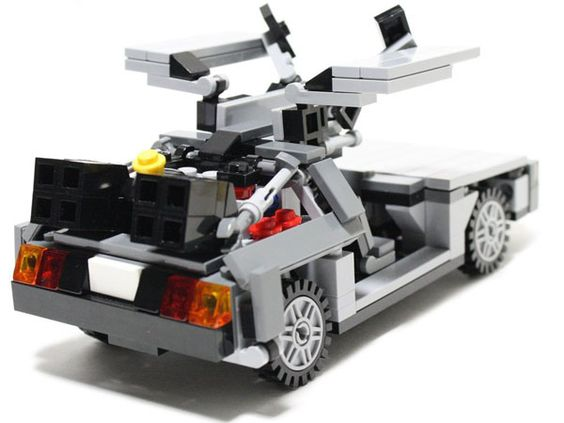 lego back to the future instructions
