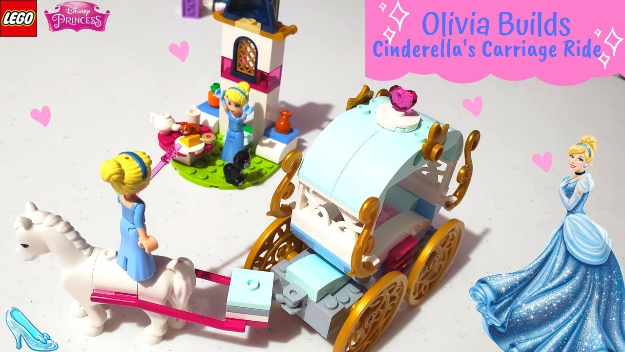 lego cinderella carriage instructions