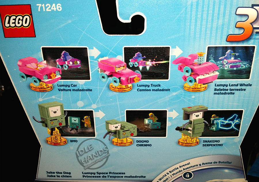 lego dimensions adventure time team pack instructions