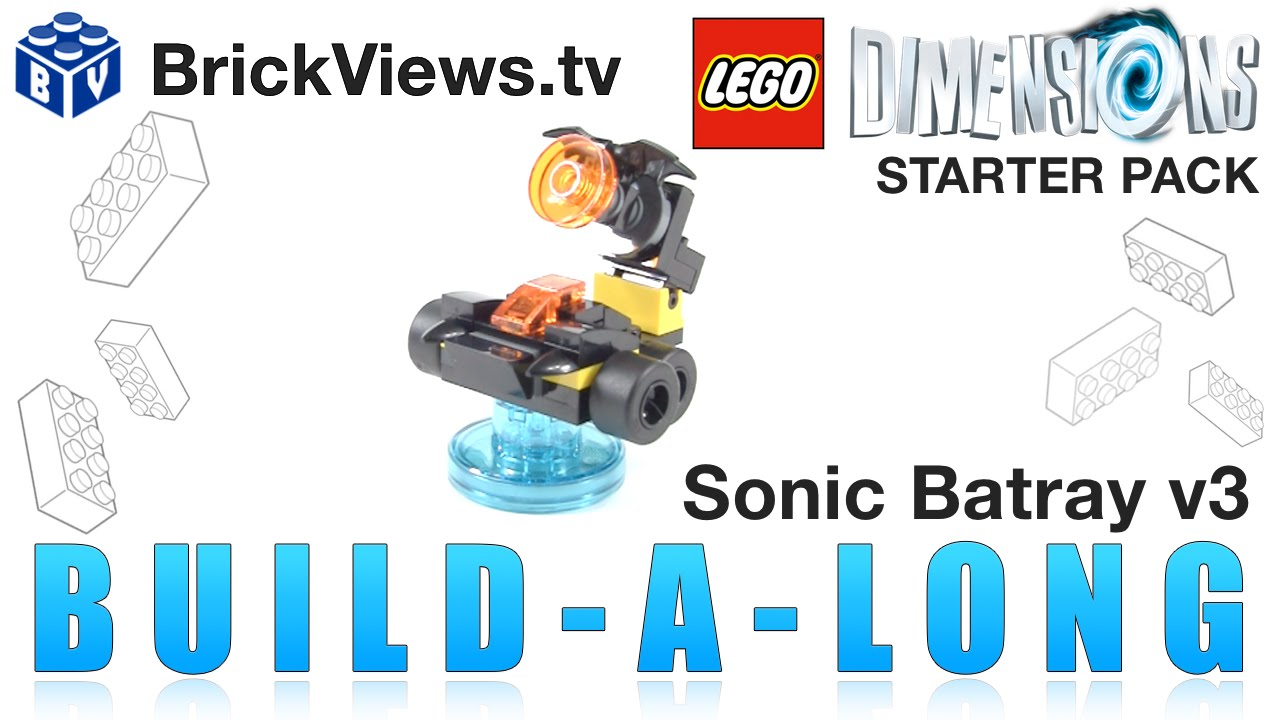lego dimensions building instructions sonic