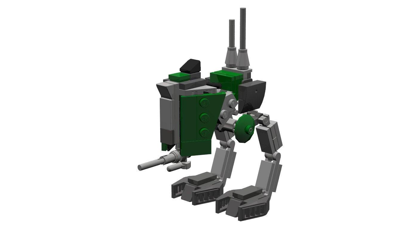 lego mini at st instructions