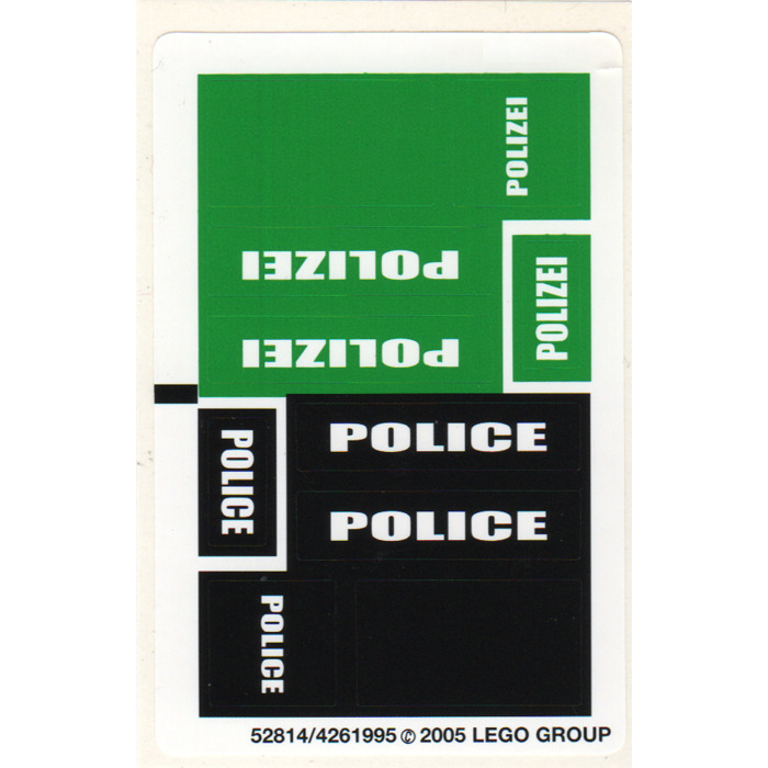 lego police car instructions 7236