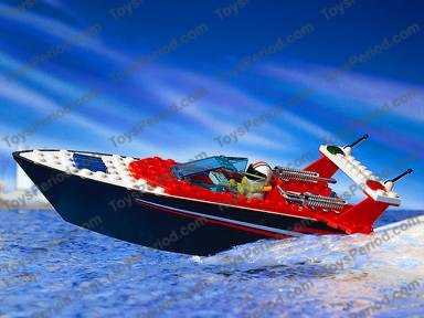lego race boat instructions