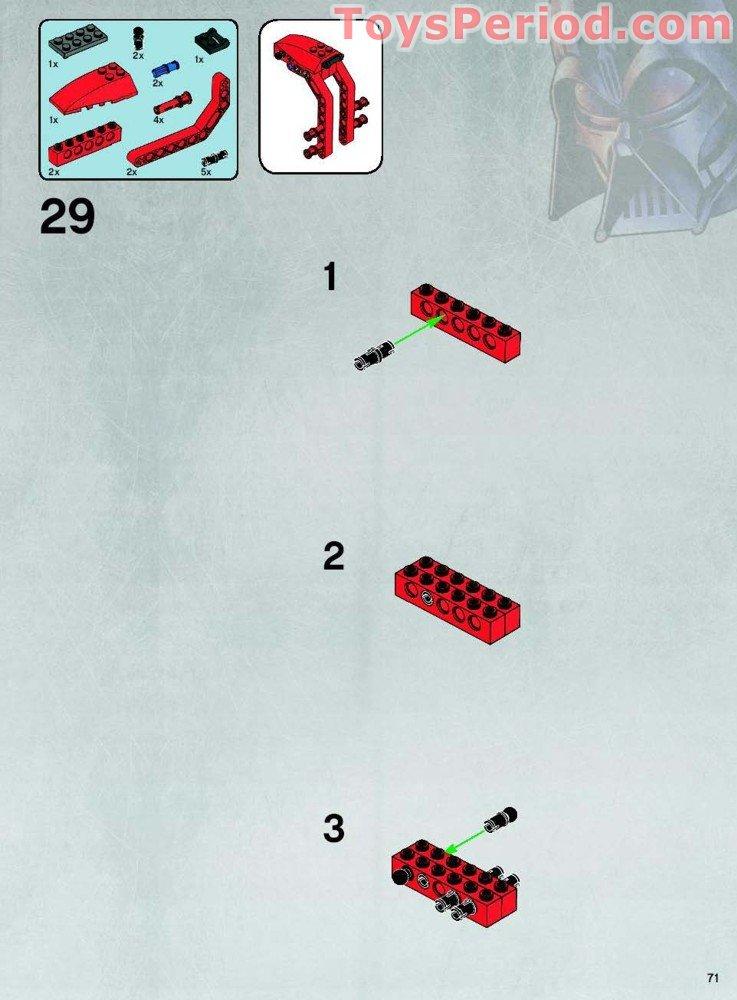 lego star wars republic cruiser instructions