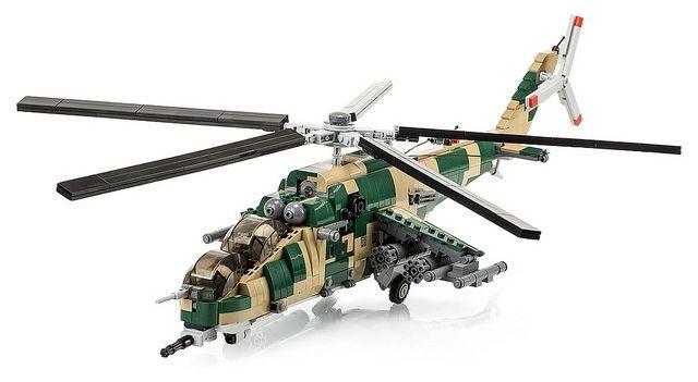 mega bloks helicopter instructions