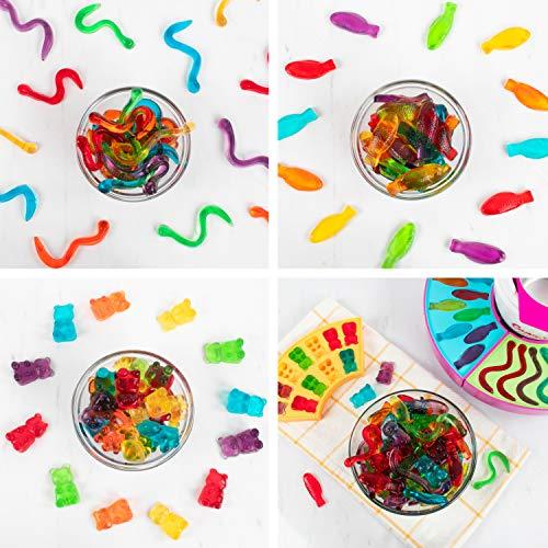 nostalgia electrics gummy candy maker instructions