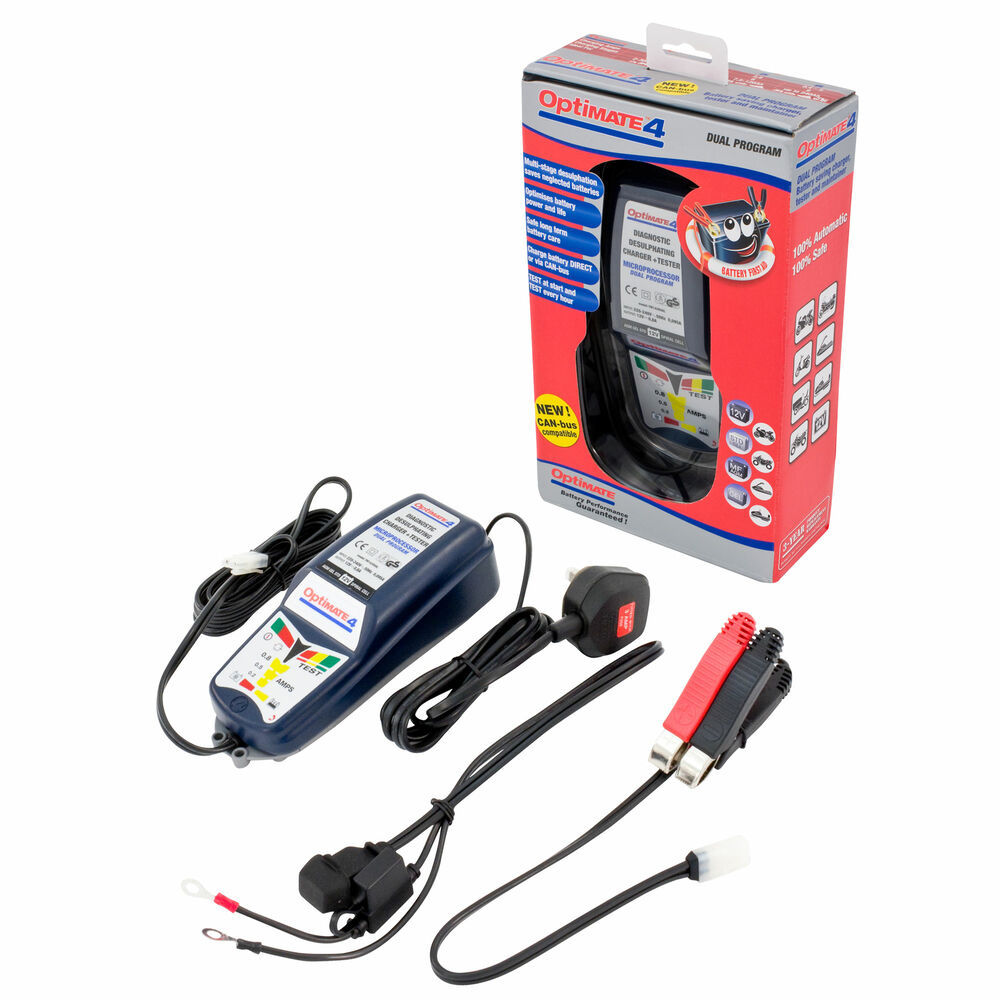 optimate 1 battery charger instructions
