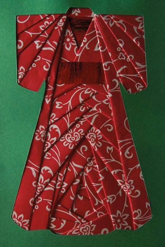 origami kimono dress instructions