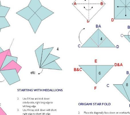 origami tea bag folding instructions