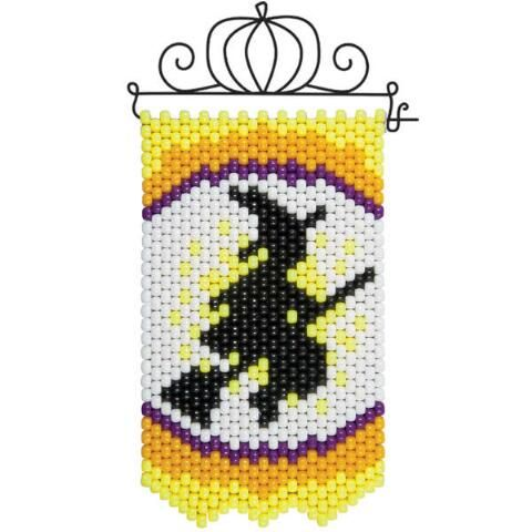 pony bead banner instructions