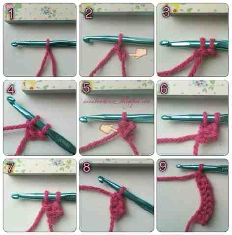 single chain crochet stitch instructions
