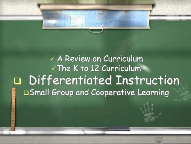 small group differentiated instruction