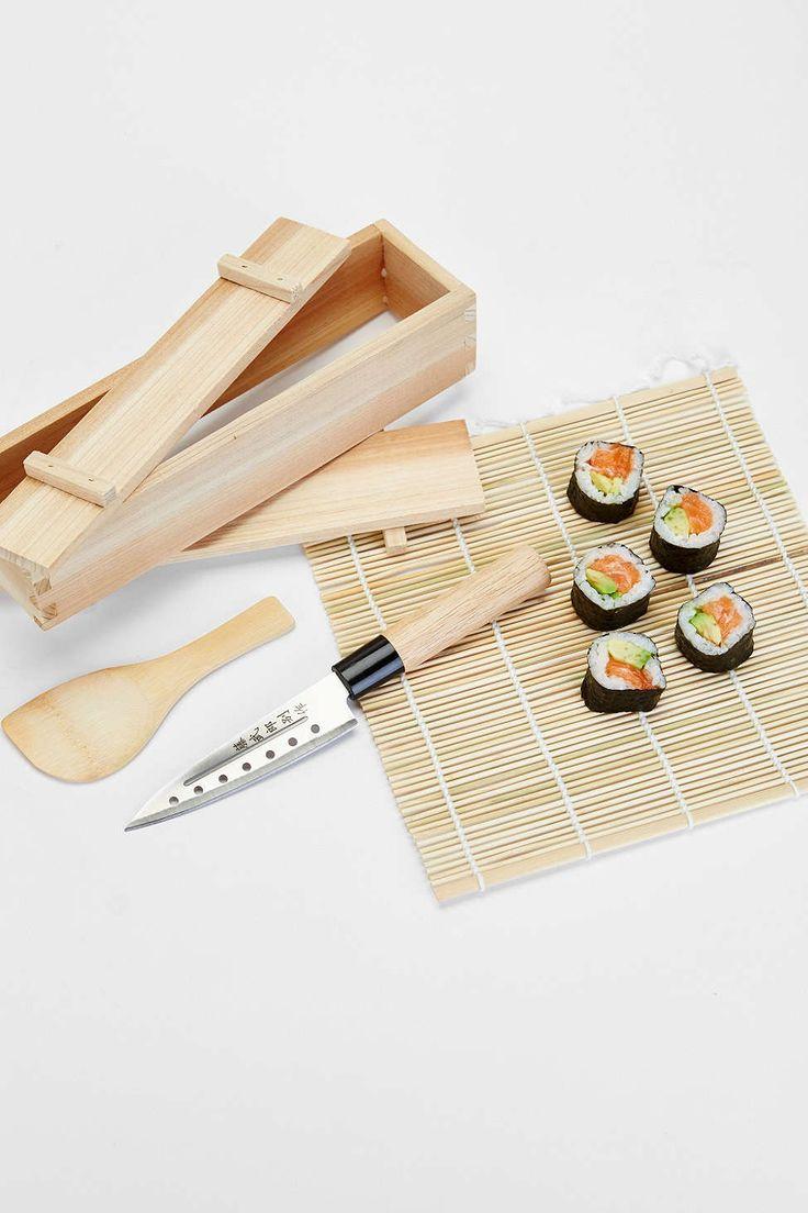 sushi making kit instructions